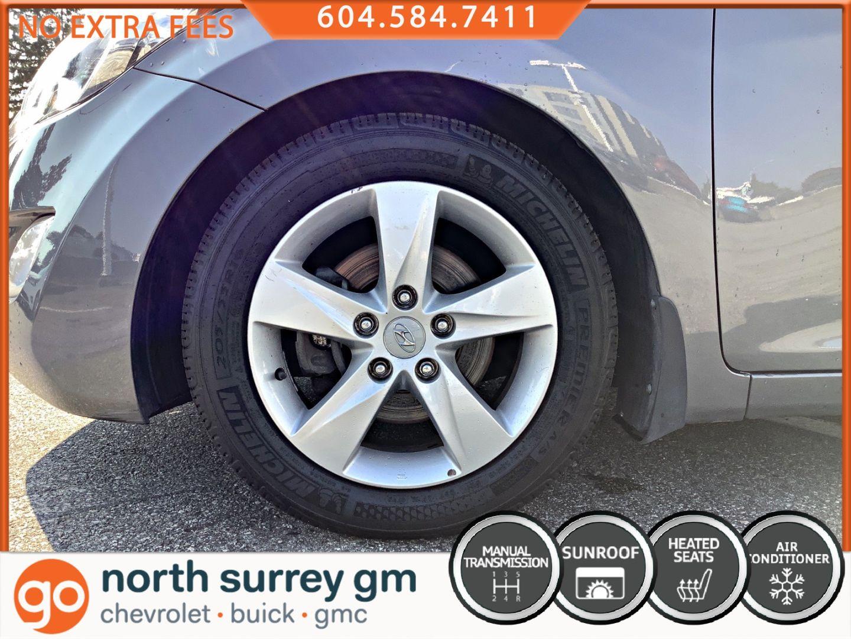 2013 Hyundai Elantra GLS for sale in Surrey, British Columbia