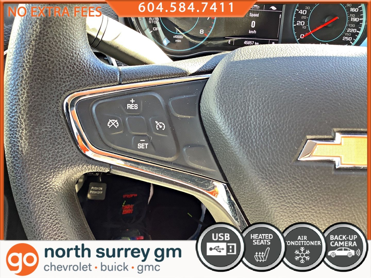 2018 Chevrolet Cruze LT for sale in Surrey, British Columbia