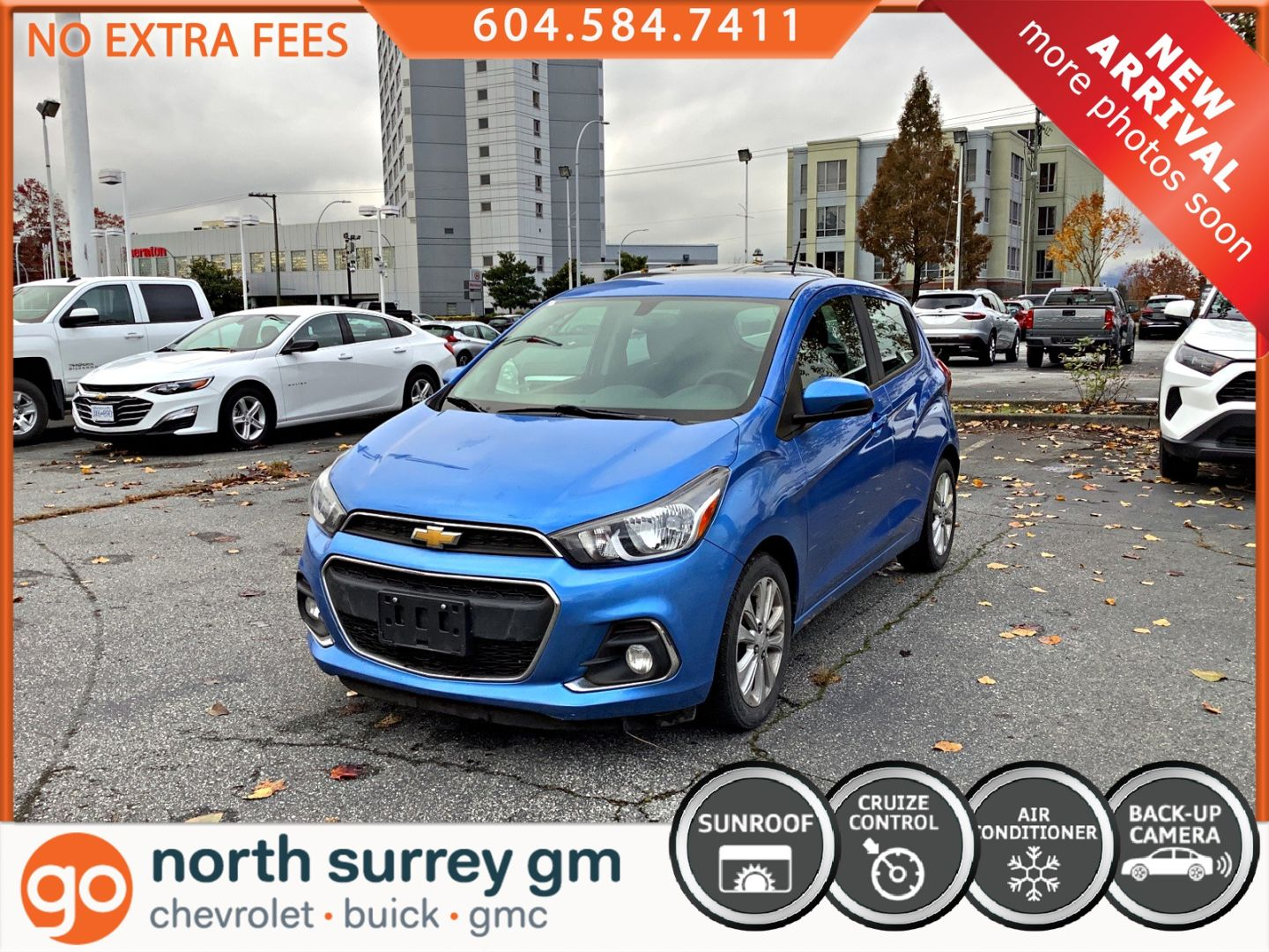 2016 Chevrolet Spark LT for sale in Surrey, British Columbia