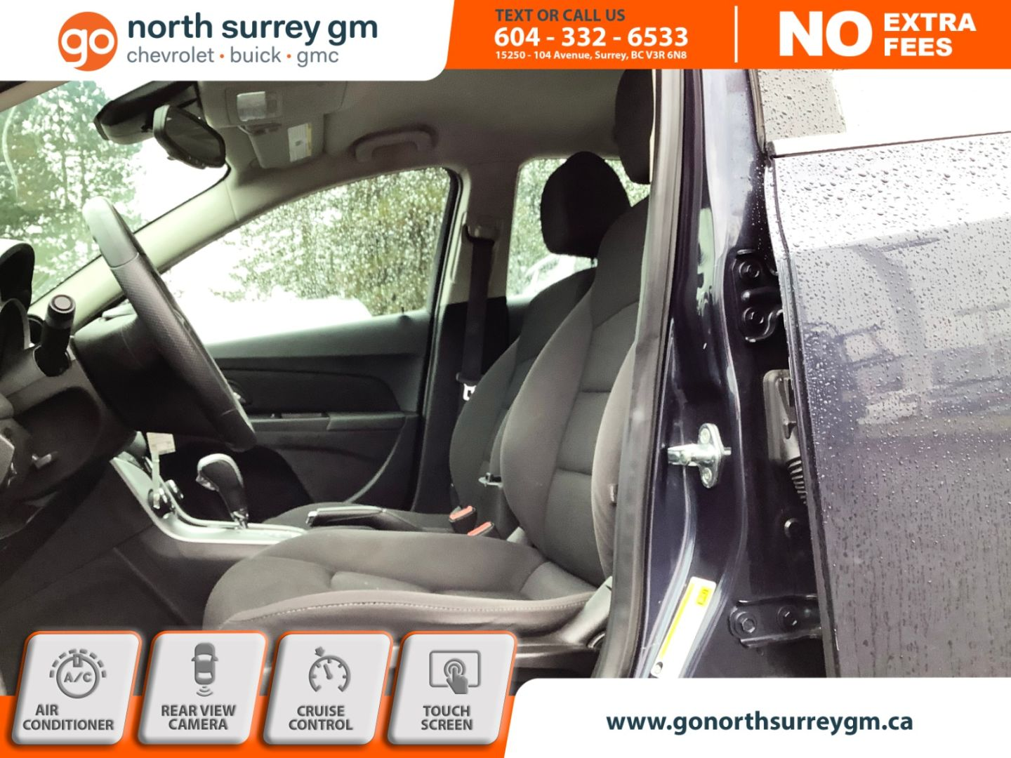 2016 Chevrolet Cruze Limited LT for sale in Surrey, British Columbia