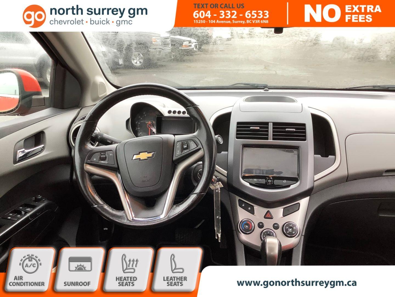 2013 Chevrolet Sonic LTZ for sale in Surrey, British Columbia