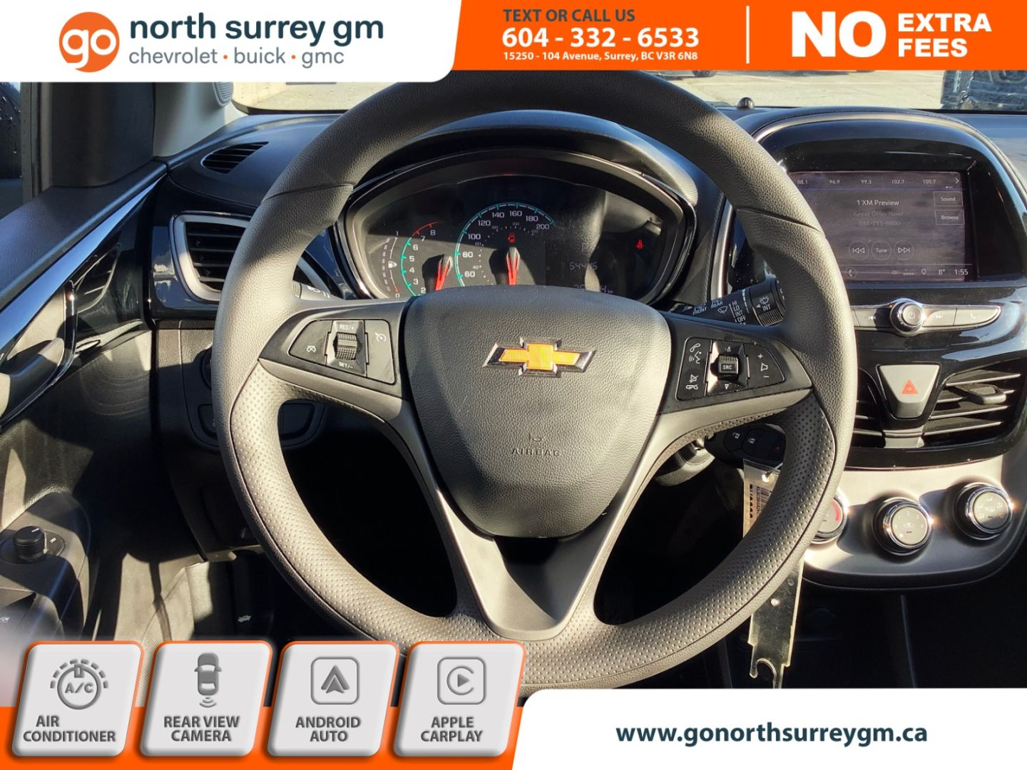2019 Chevrolet Spark LT for sale in Surrey, British Columbia