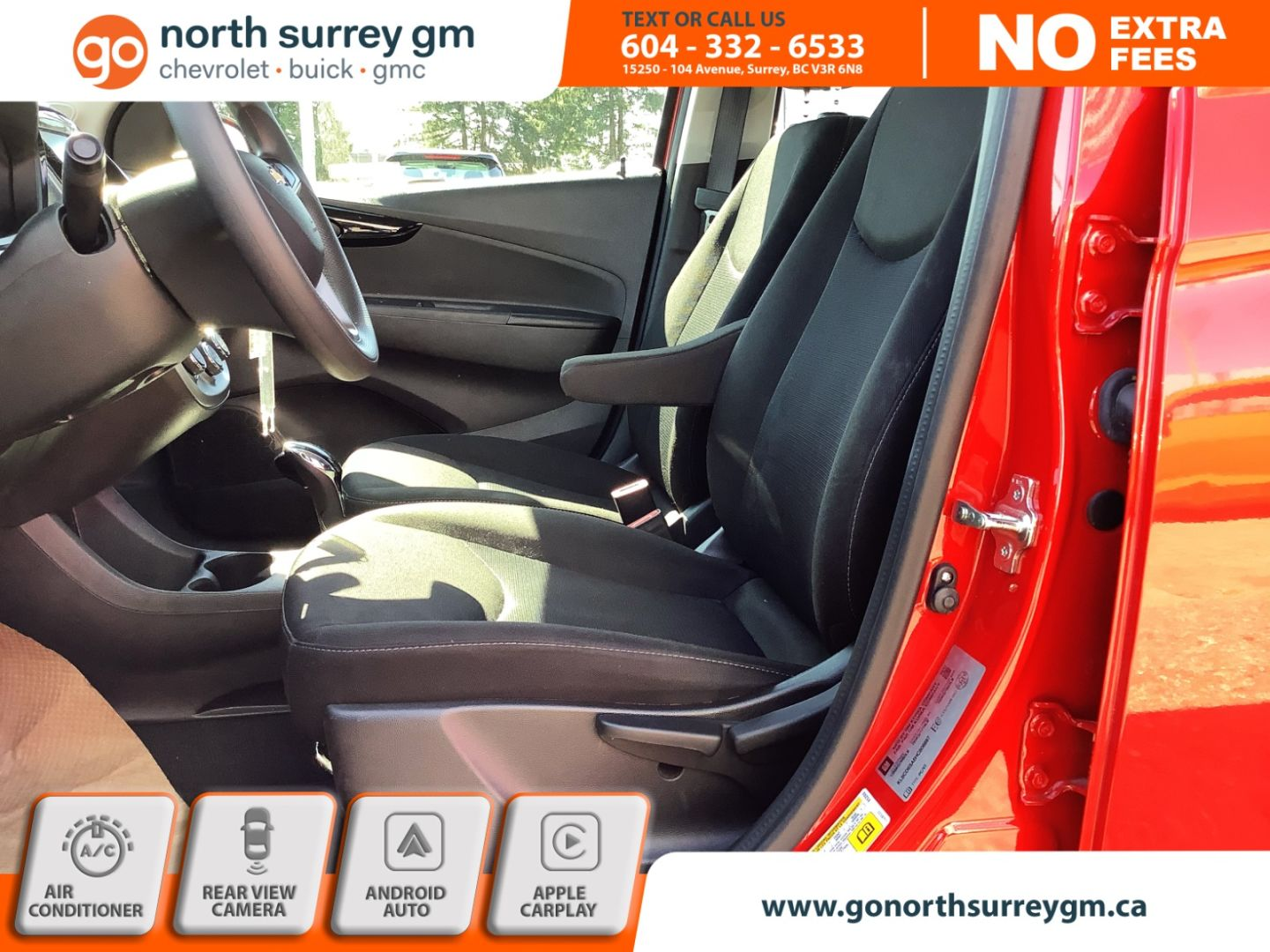 2017 Chevrolet Spark LT for sale in Surrey, British Columbia