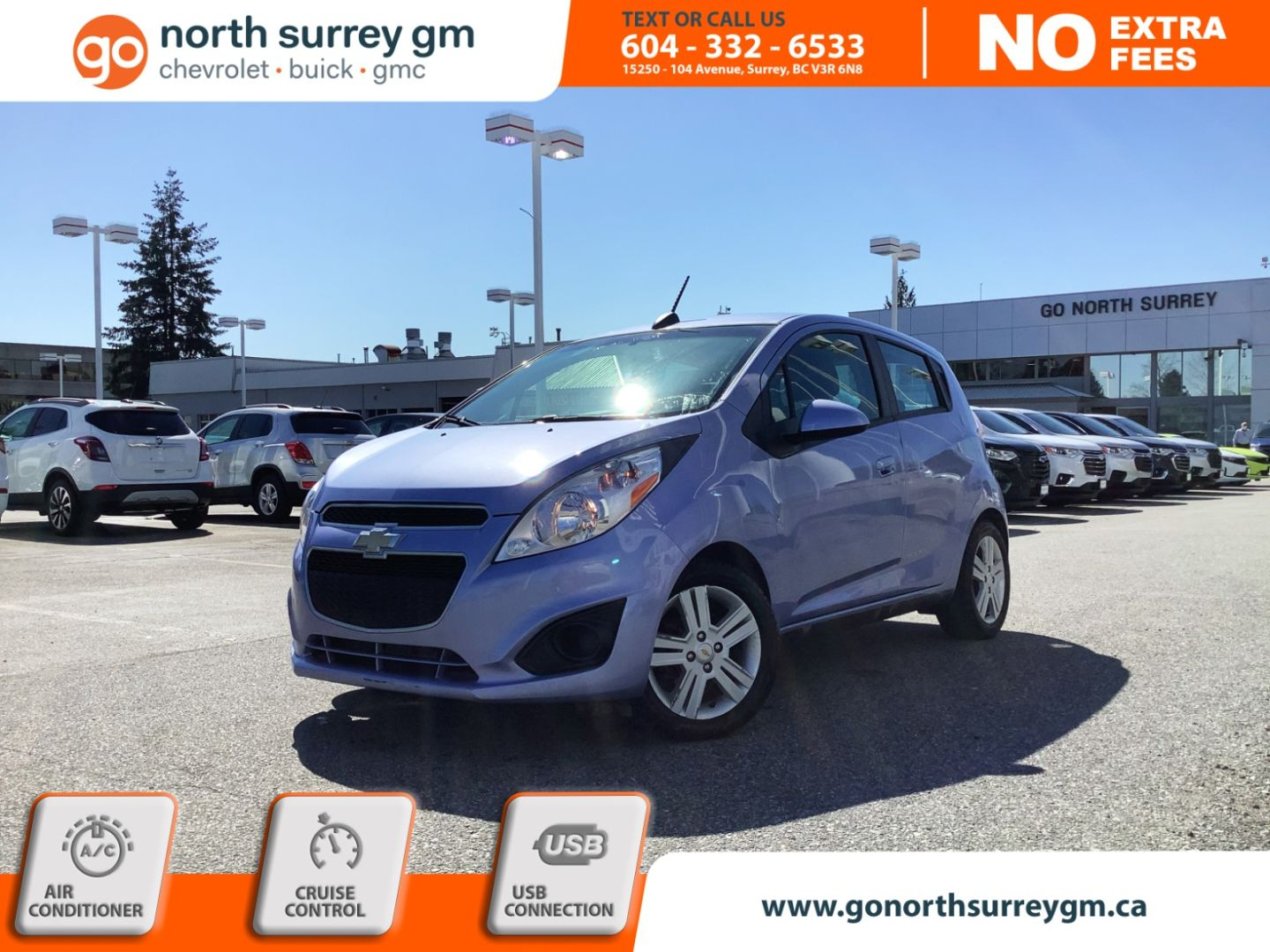 2015 Chevrolet Spark LT for sale in Surrey, British Columbia