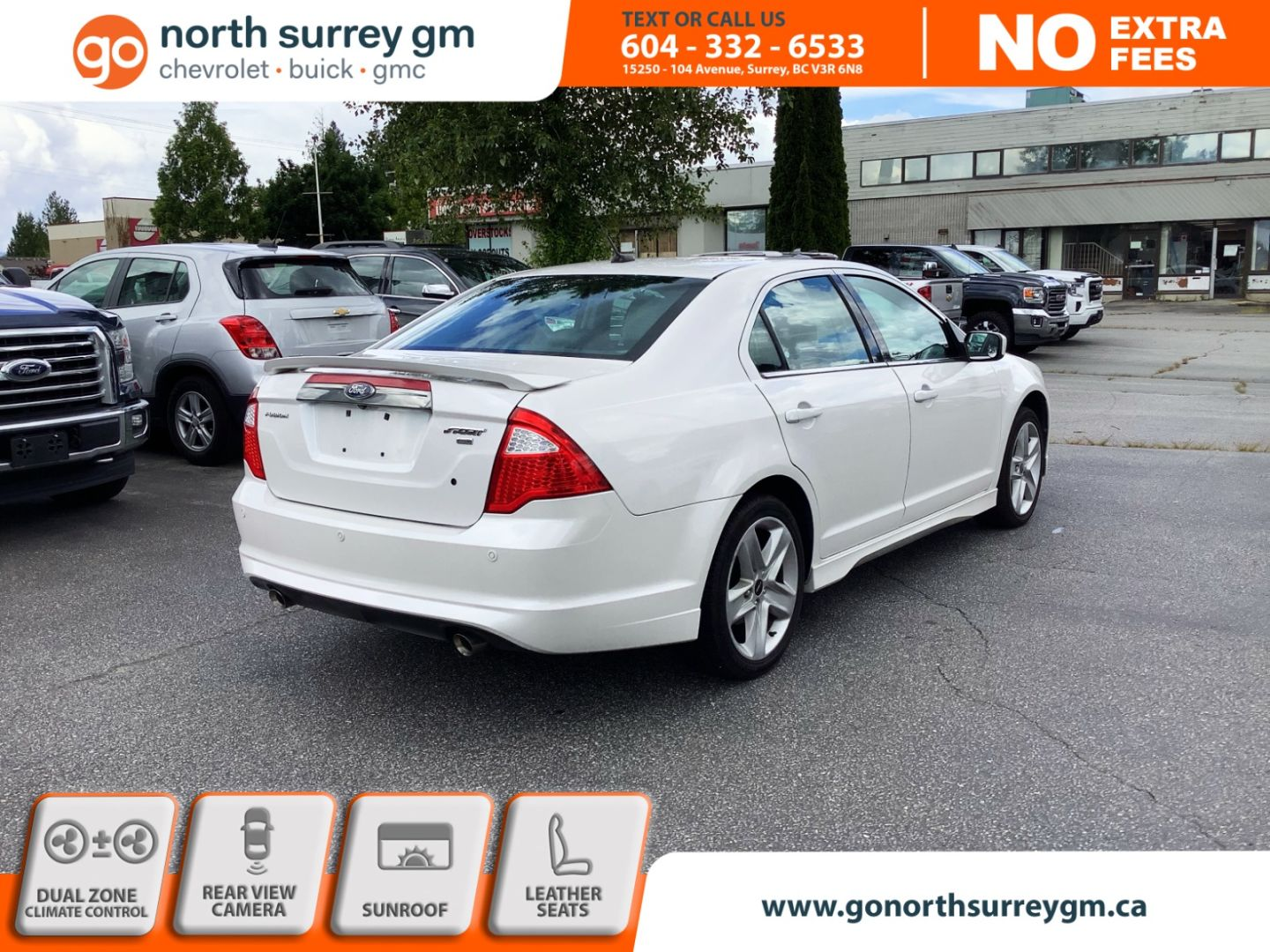 2012 Ford Fusion SPORT for sale in Surrey, British Columbia