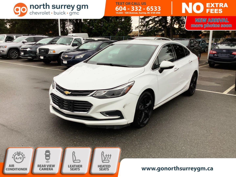 2018 Chevrolet Cruze Premier for sale in Surrey, British Columbia