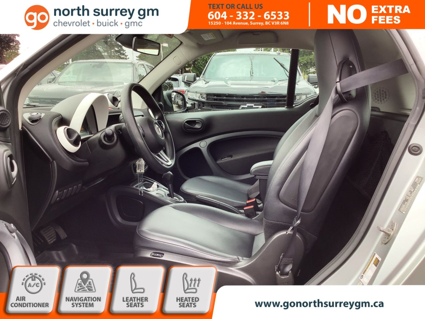 2016 smart fortwo Pure for sale in Surrey, British Columbia