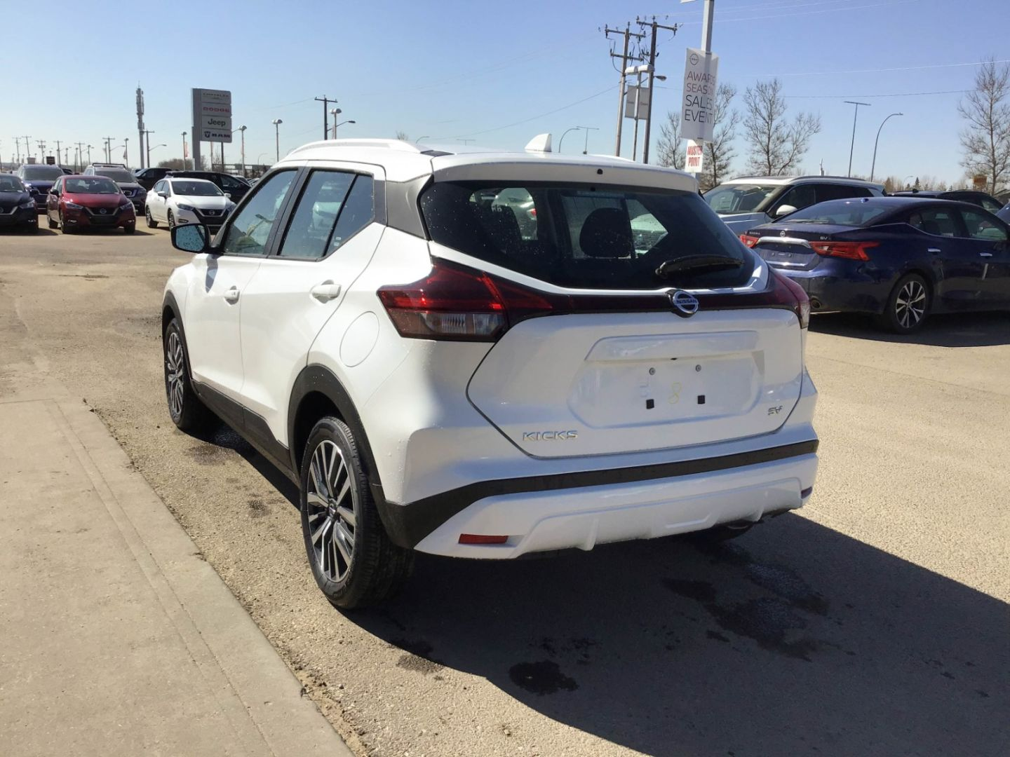 2021 Nissan Kicks SV for sale in Edmonton, Alberta