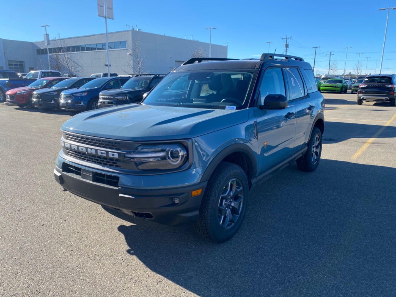2021 Ford Bronco Sport Badlands for sale in Edmonton, Alberta