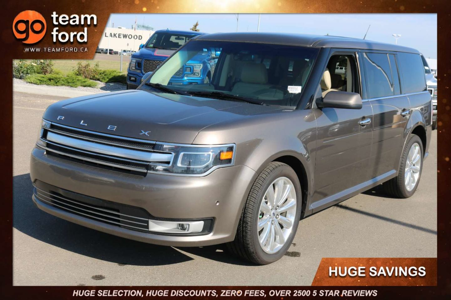 2019 Ford Flex Limited EcoBoost for sale in Edmonton, Alberta