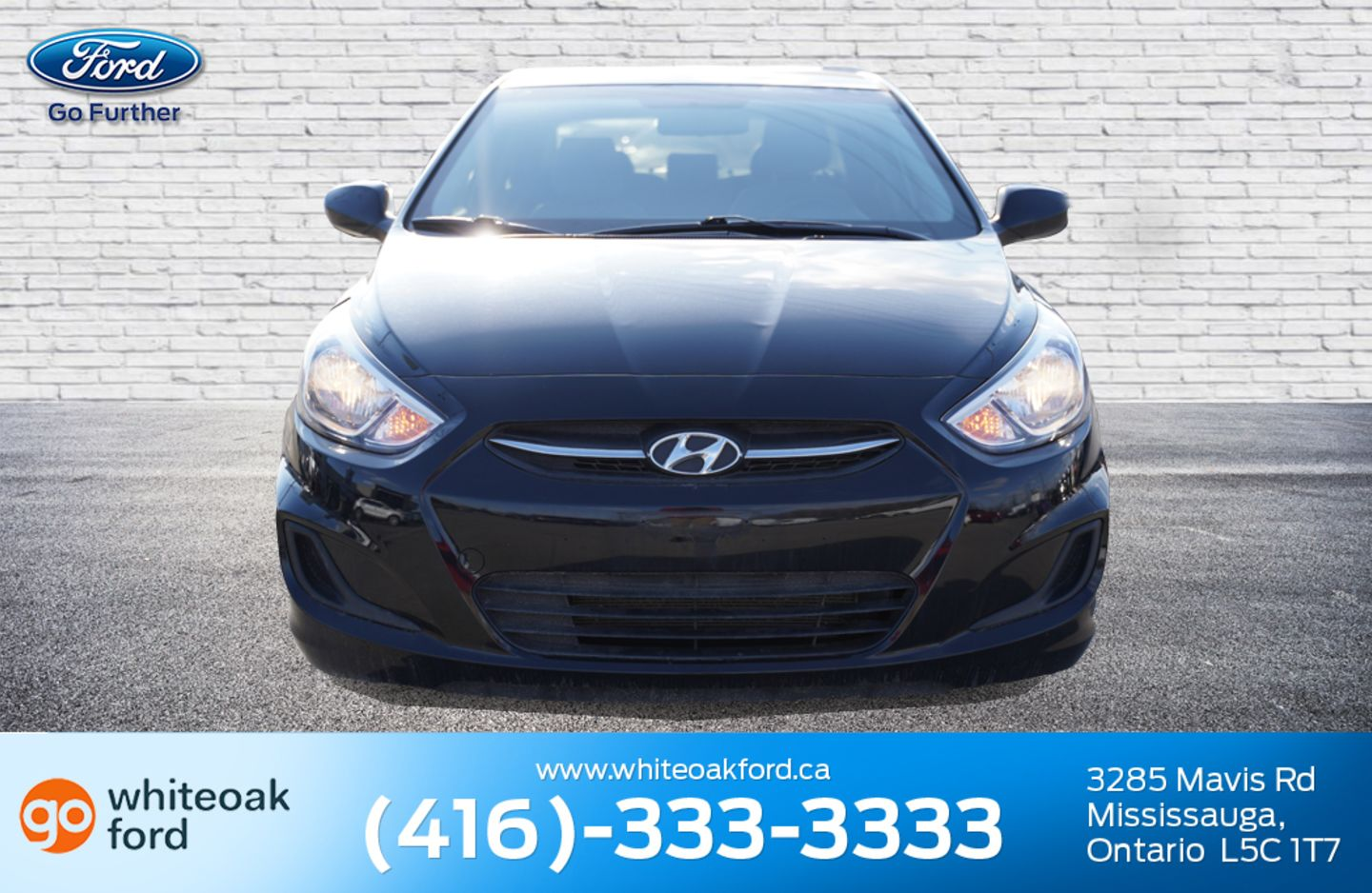 2016 Hyundai Accent GL for sale in Mississauga, Ontario