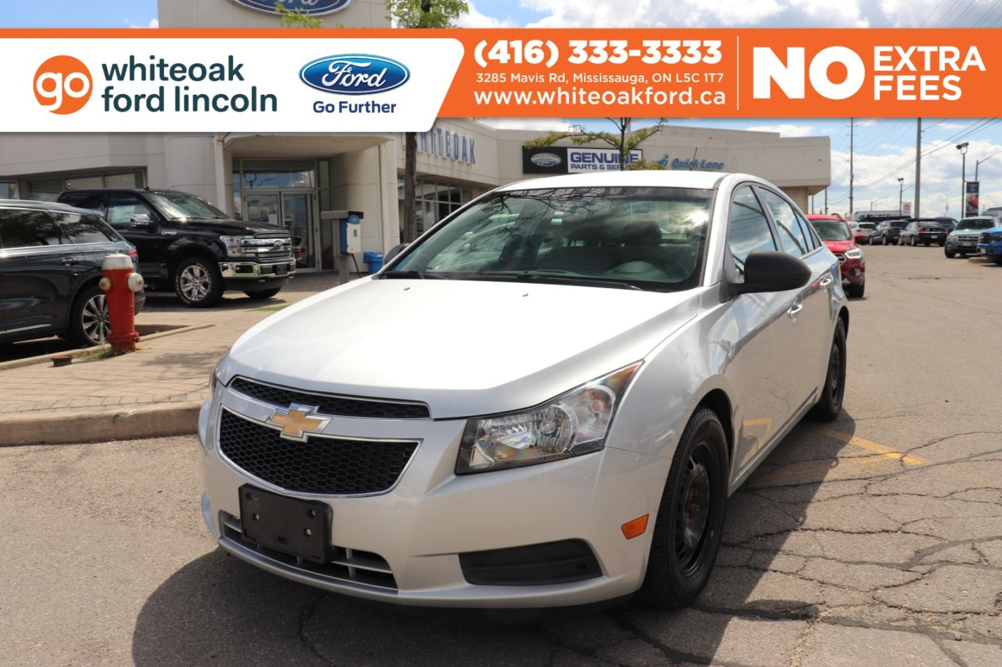2012 Chevrolet Cruze LS+ w/1SB for sale in Mississauga, Ontario