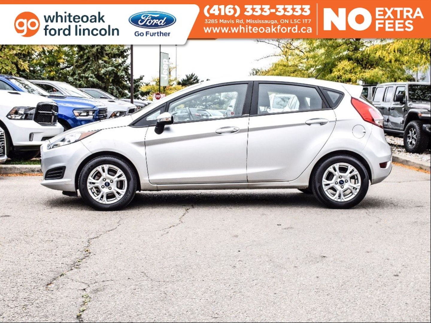 2015 Ford Fiesta SE for sale in Mississauga, Ontario