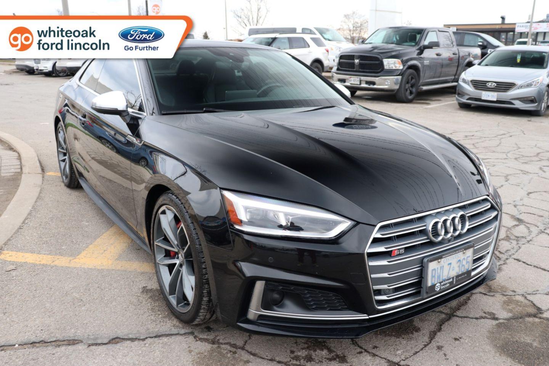 Used 2018 Audi S5 Coupe Technik P10385 Mississauga Ontario Go Auto