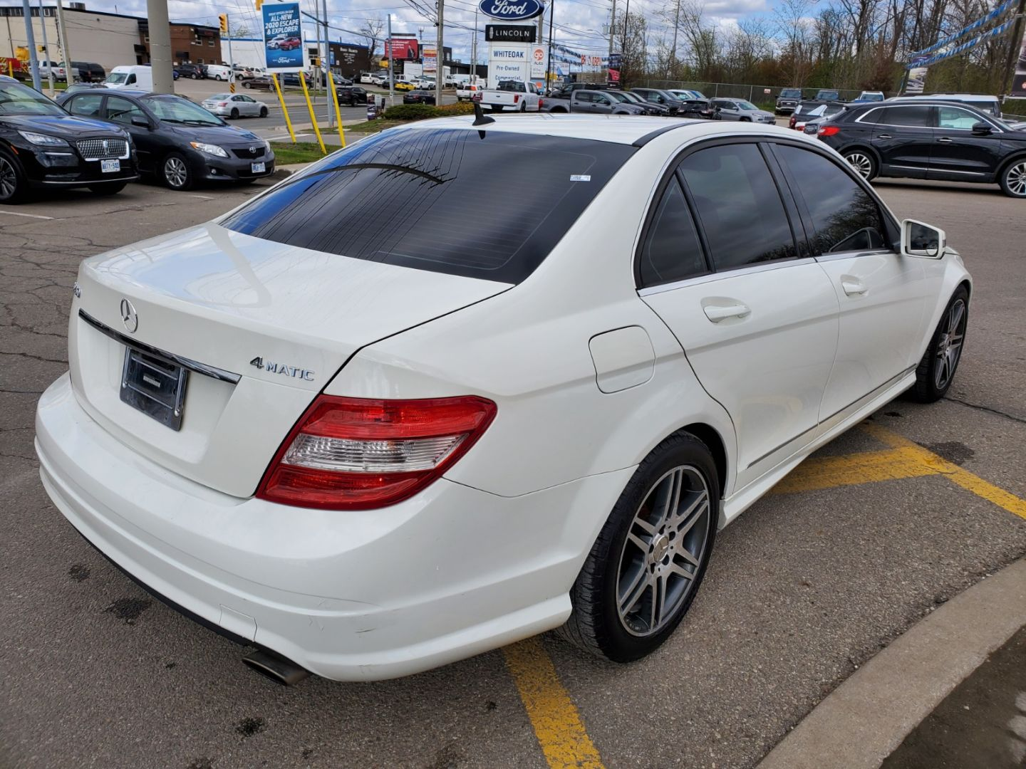 2010 Mercedes-Benz C-Class C 250 for sale in Mississauga, Ontario