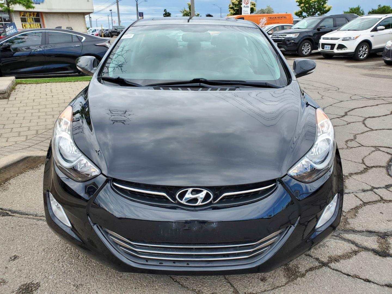 2013 Hyundai Elantra Limited w/Navi for sale in Mississauga, Ontario