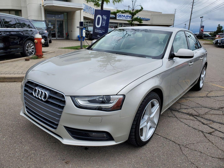 2013 Audi A4 Premium Plus for sale in Mississauga, Ontario