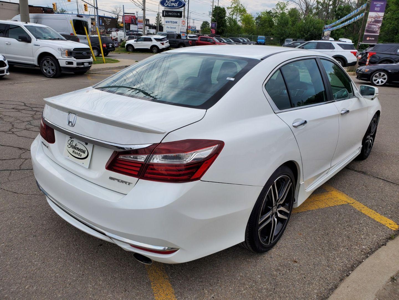 2017 Honda Accord Sedan Sport for sale in Mississauga, Ontario
