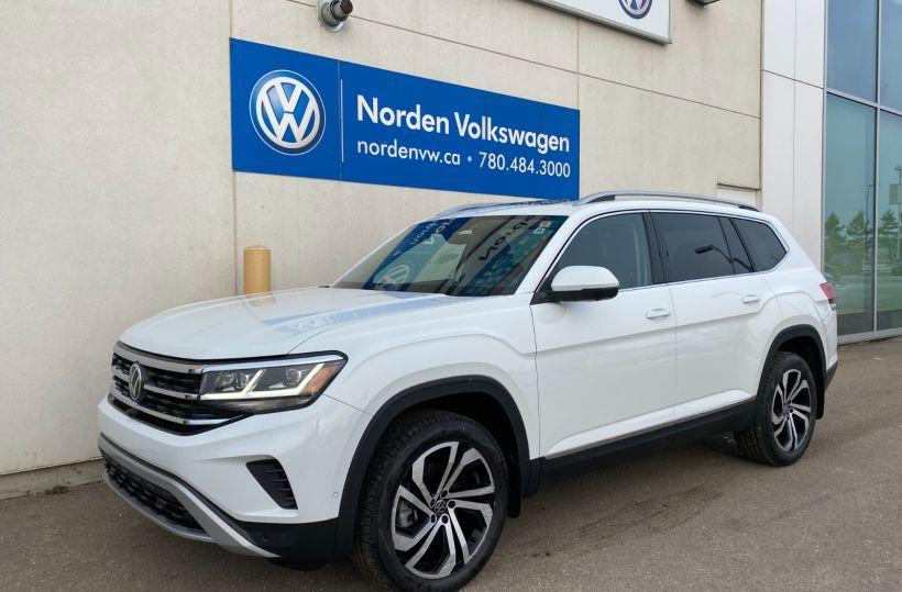 New 2021 Volkswagen Atlas Execline 21AT7847 | Edmonton ...