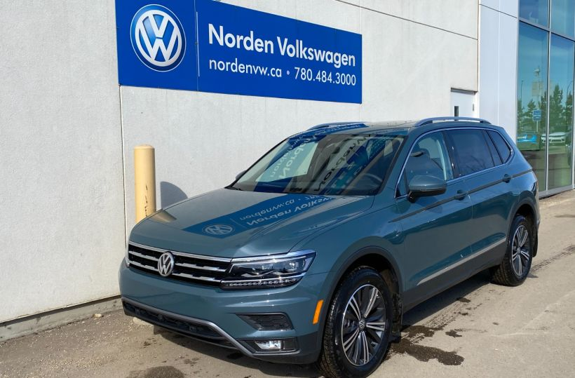 New 2021 Volkswagen Tiguan Highline 21TI7083 | Edmonton ...