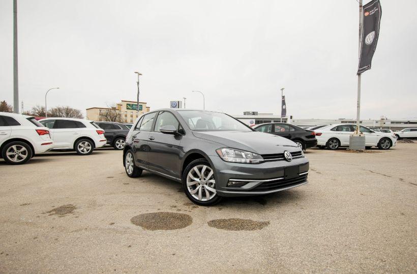 New 2021 Volkswagen Golf Highline 221287   Winnipeg ...