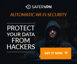 SaferVPN – 81% OFF