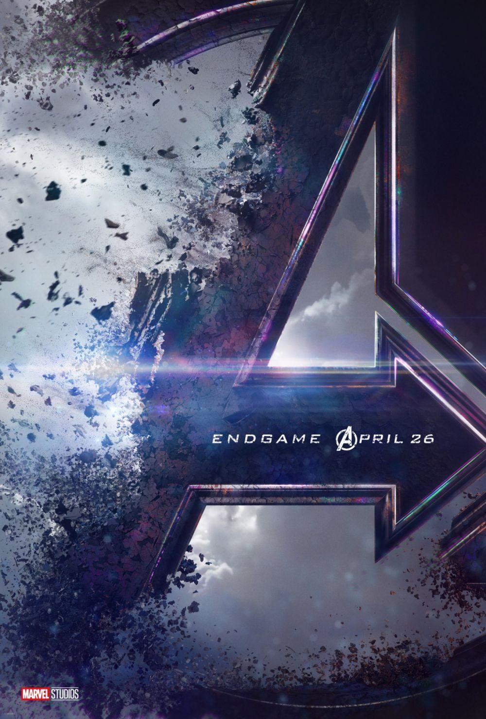 """Avengers Endgame"""": este es el Poster de """"Avengers 4"""