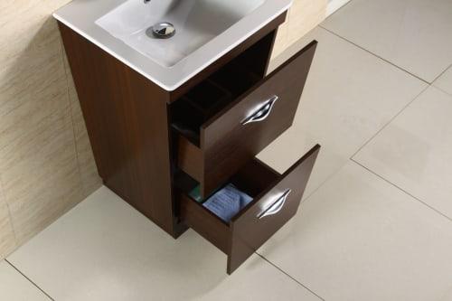 American Imaginations AI-888-1191 Plywood-Melamine Vanity Set In Wenge