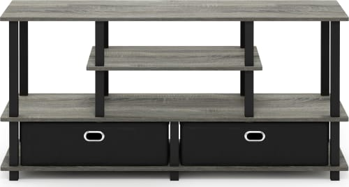 FURINNO Furinno JAYA Large TV Stand for up to 50-Inch TV with Storage Bin