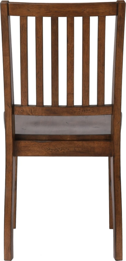 Sunset Trading DLU-BR-C60-AM-2 Simply Brook Dining Chair Amish Brown