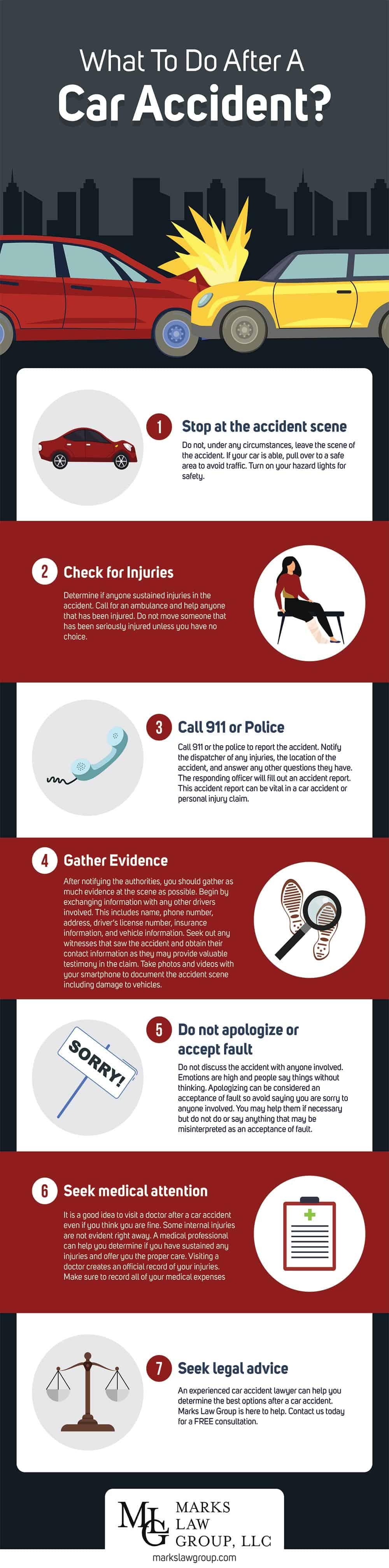 Decatur Car Accident - Infographic