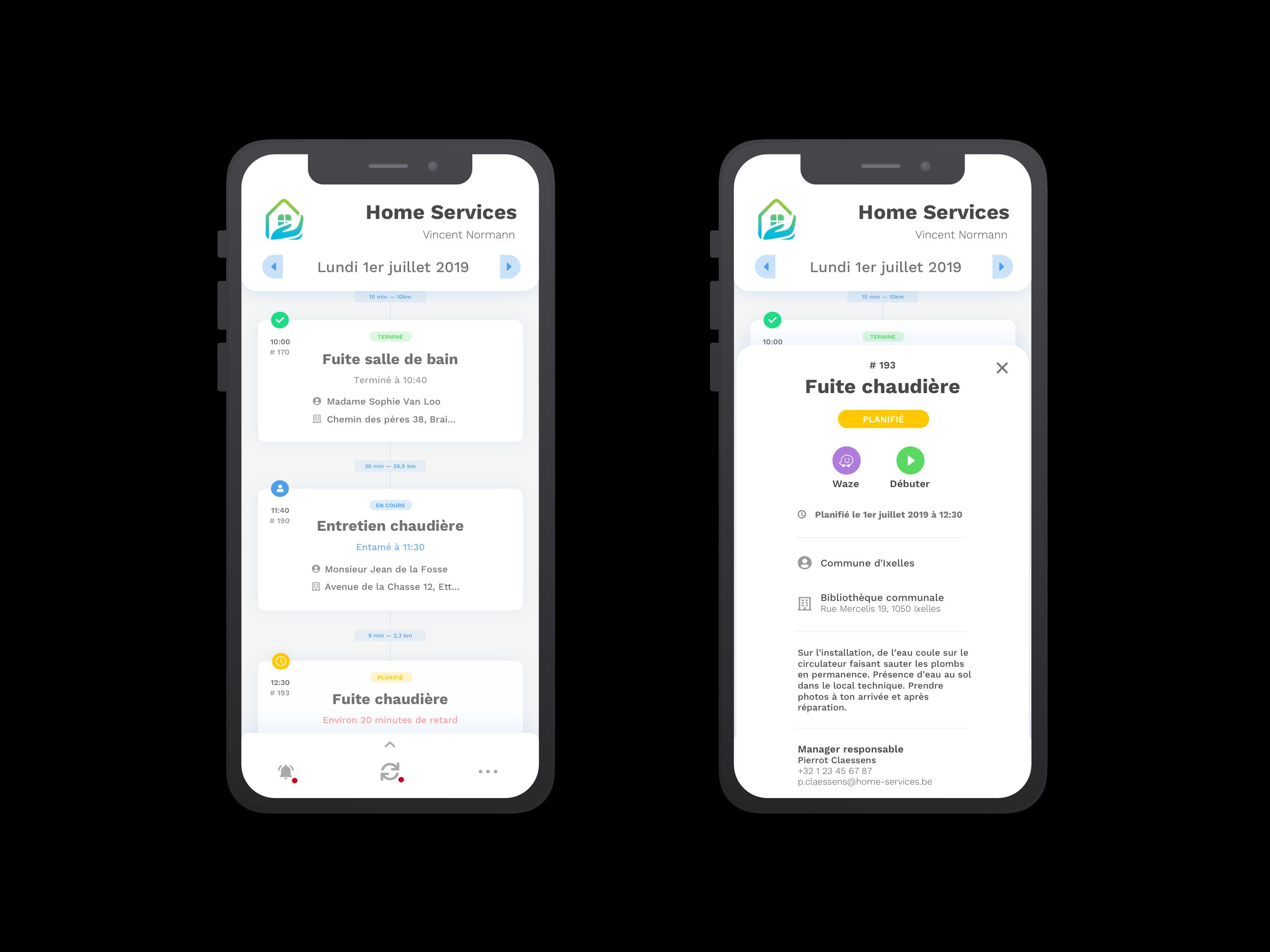mobile view yuman app