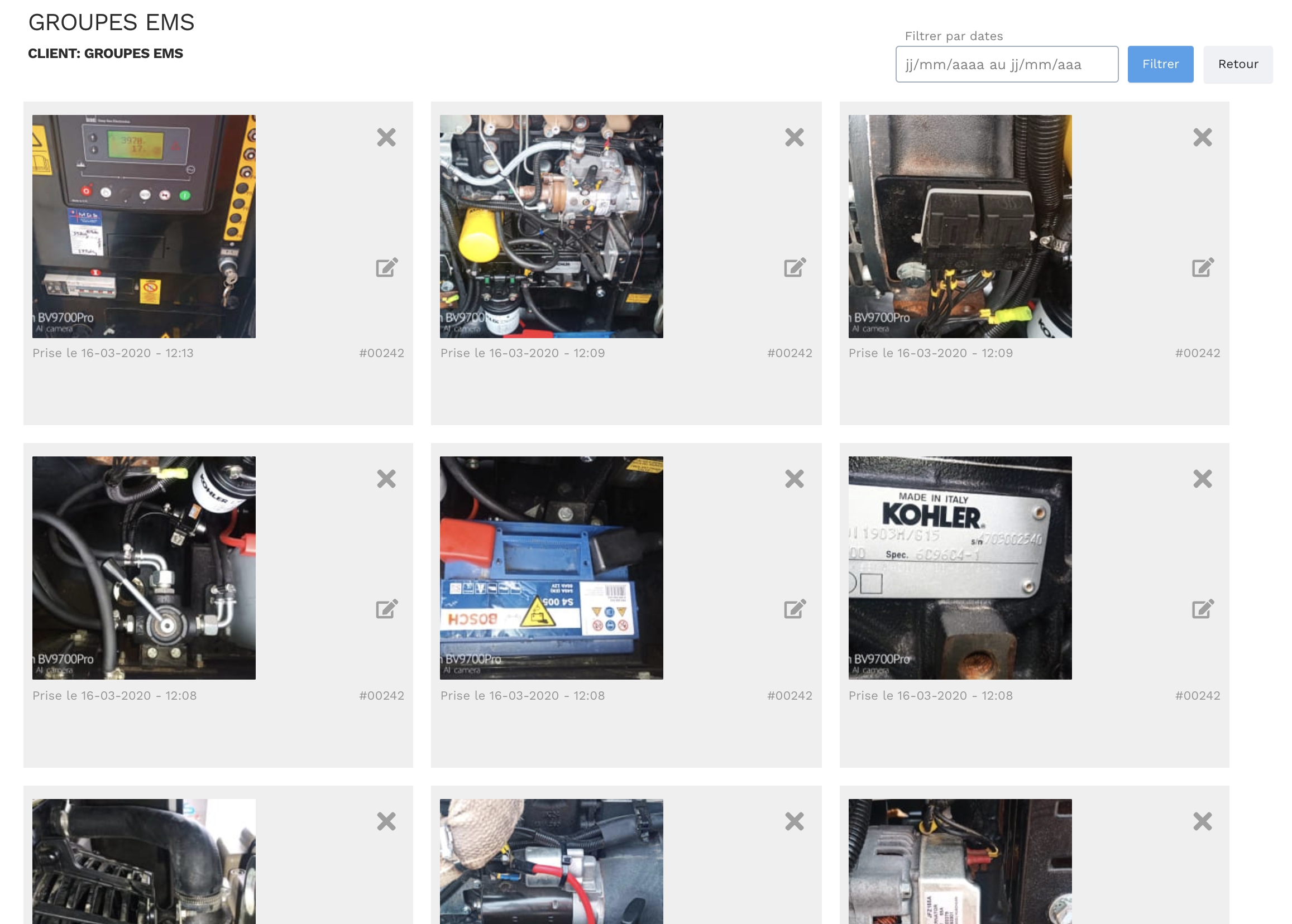 Outil photothèque équipements - Logiciel de gestion de la maintenance - GMAO Yuman