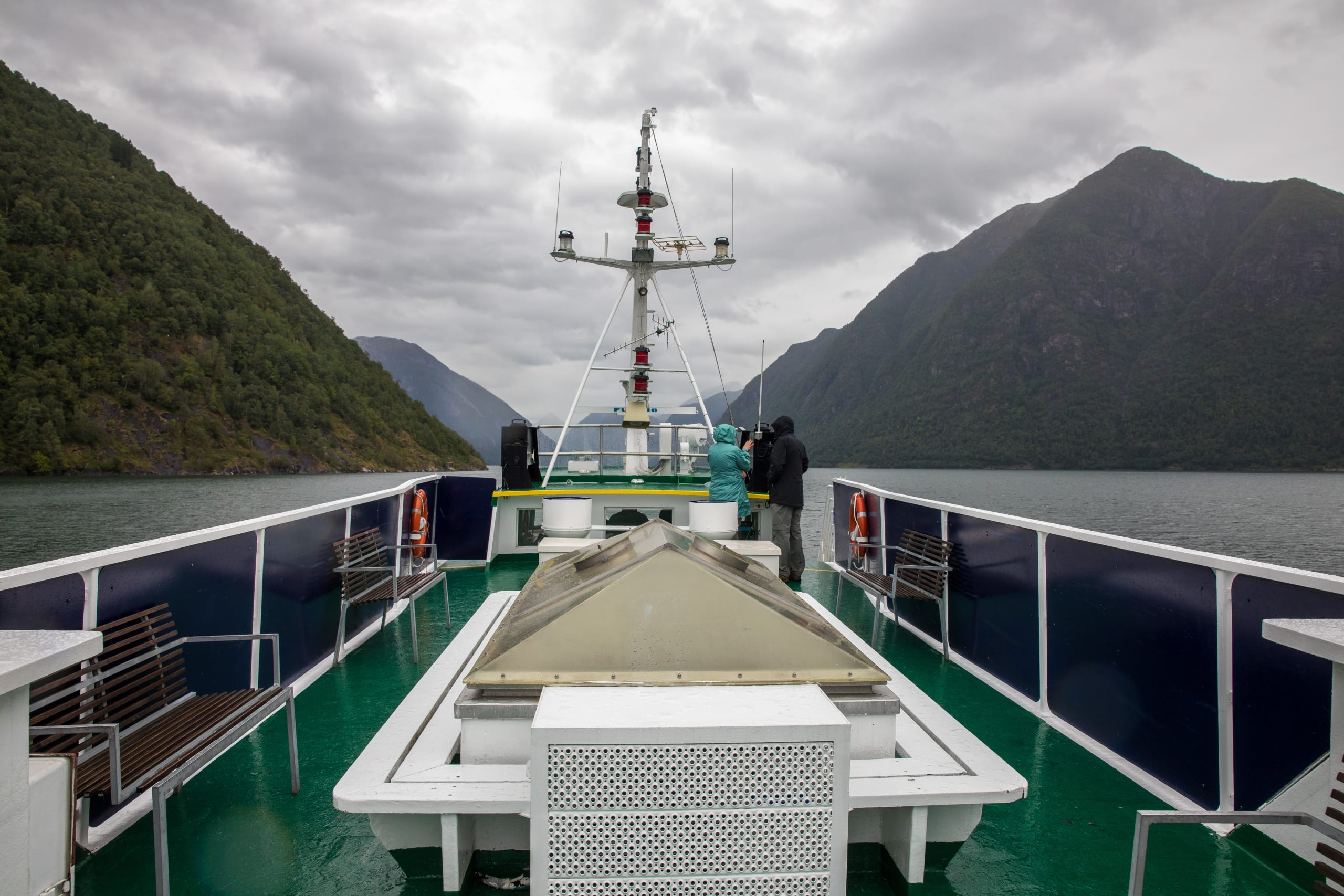 Sundeck of Fjord Lady