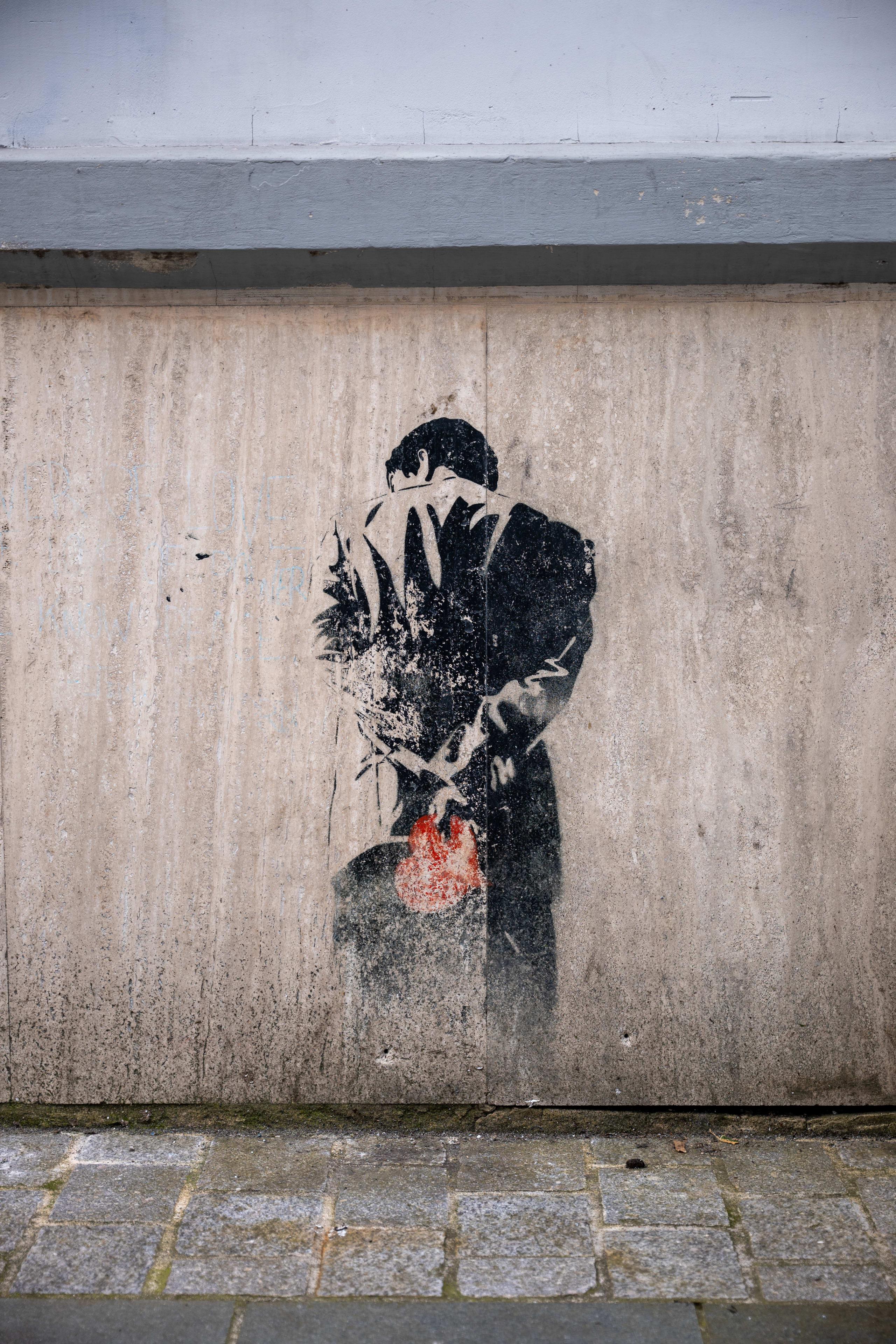 Street art in Bergen by Dolk