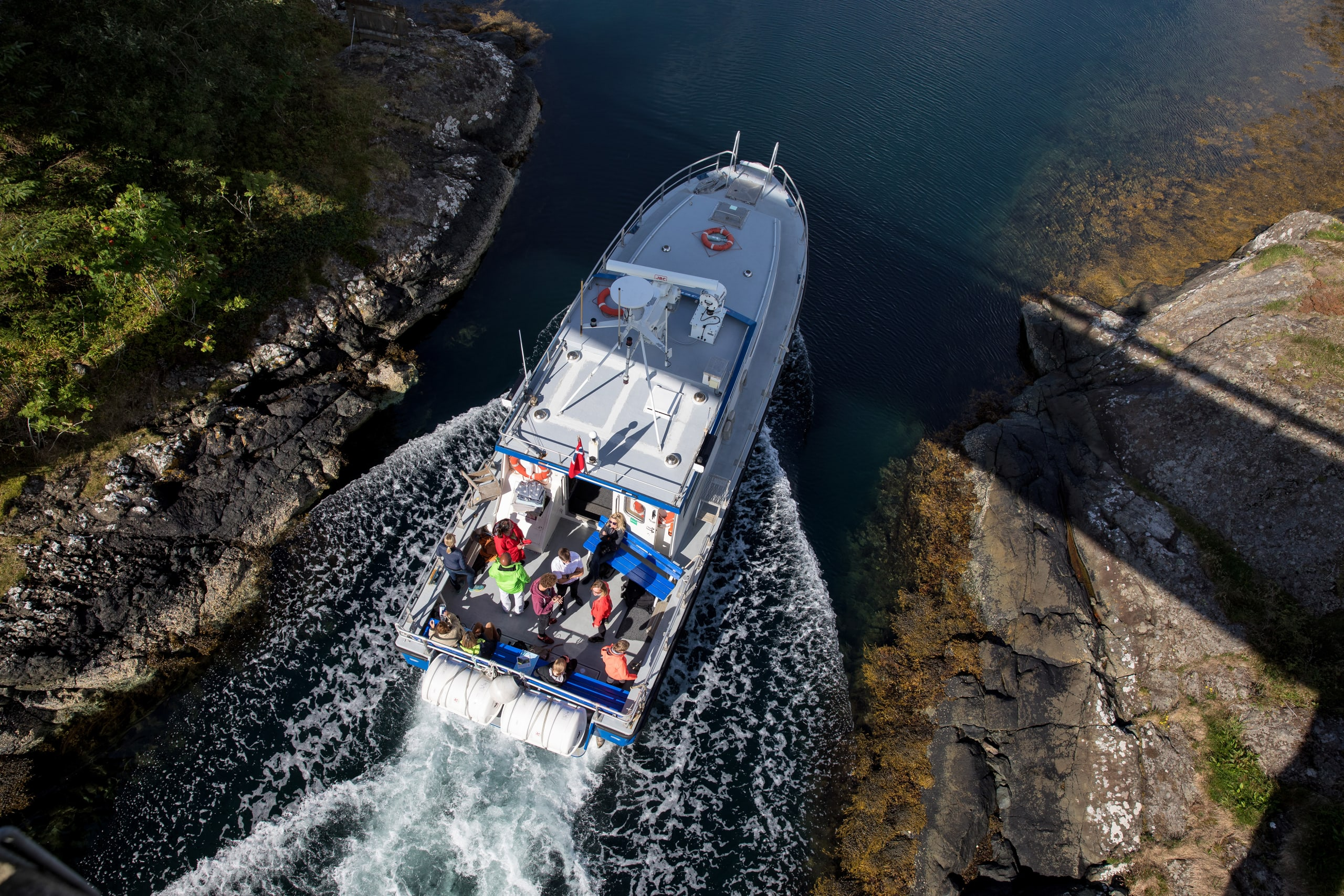 Stjernsund Postal Boat