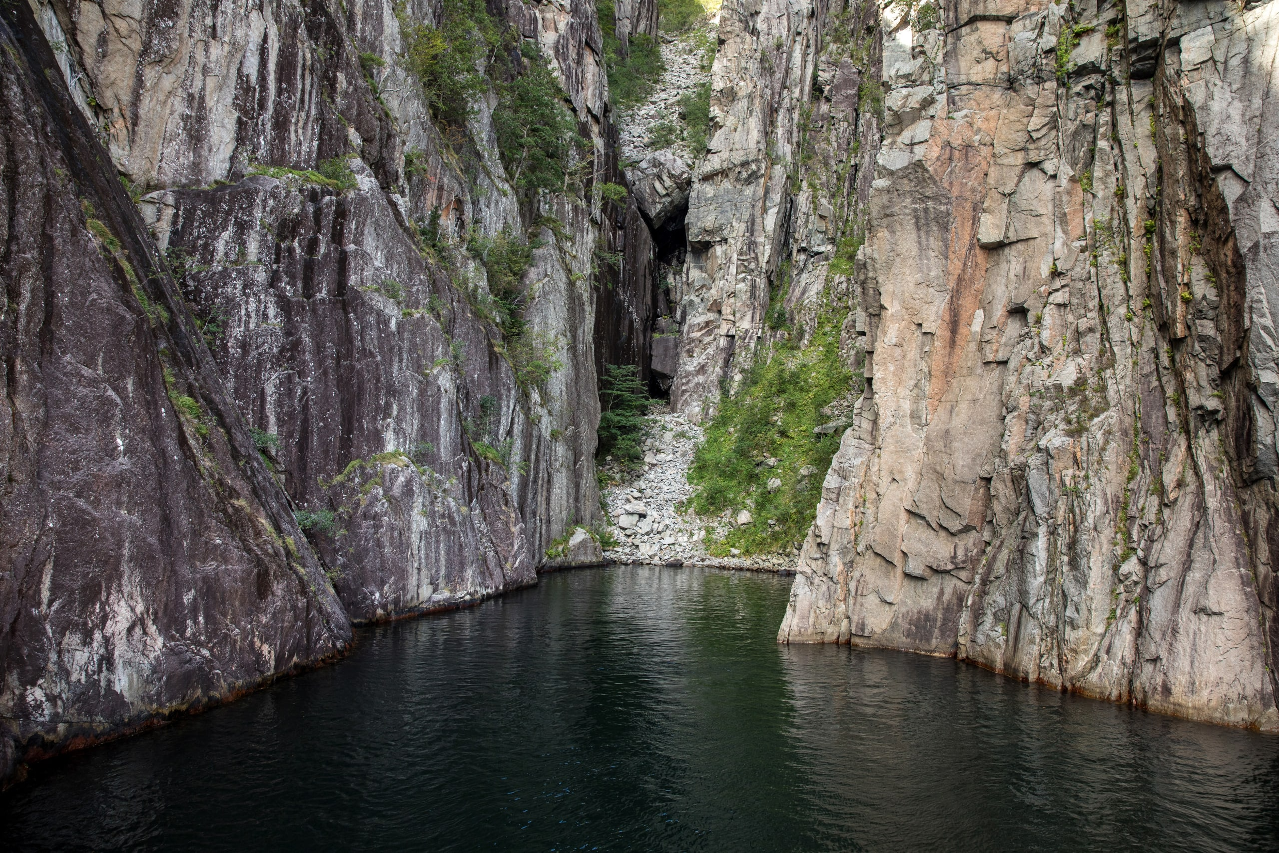 Vagabond´s cave in Lysefjord