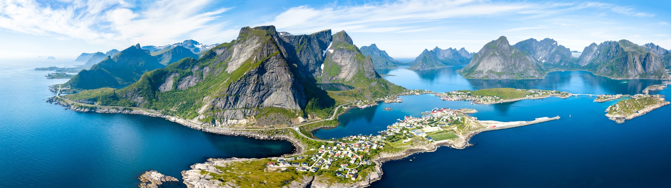 Reine from high above