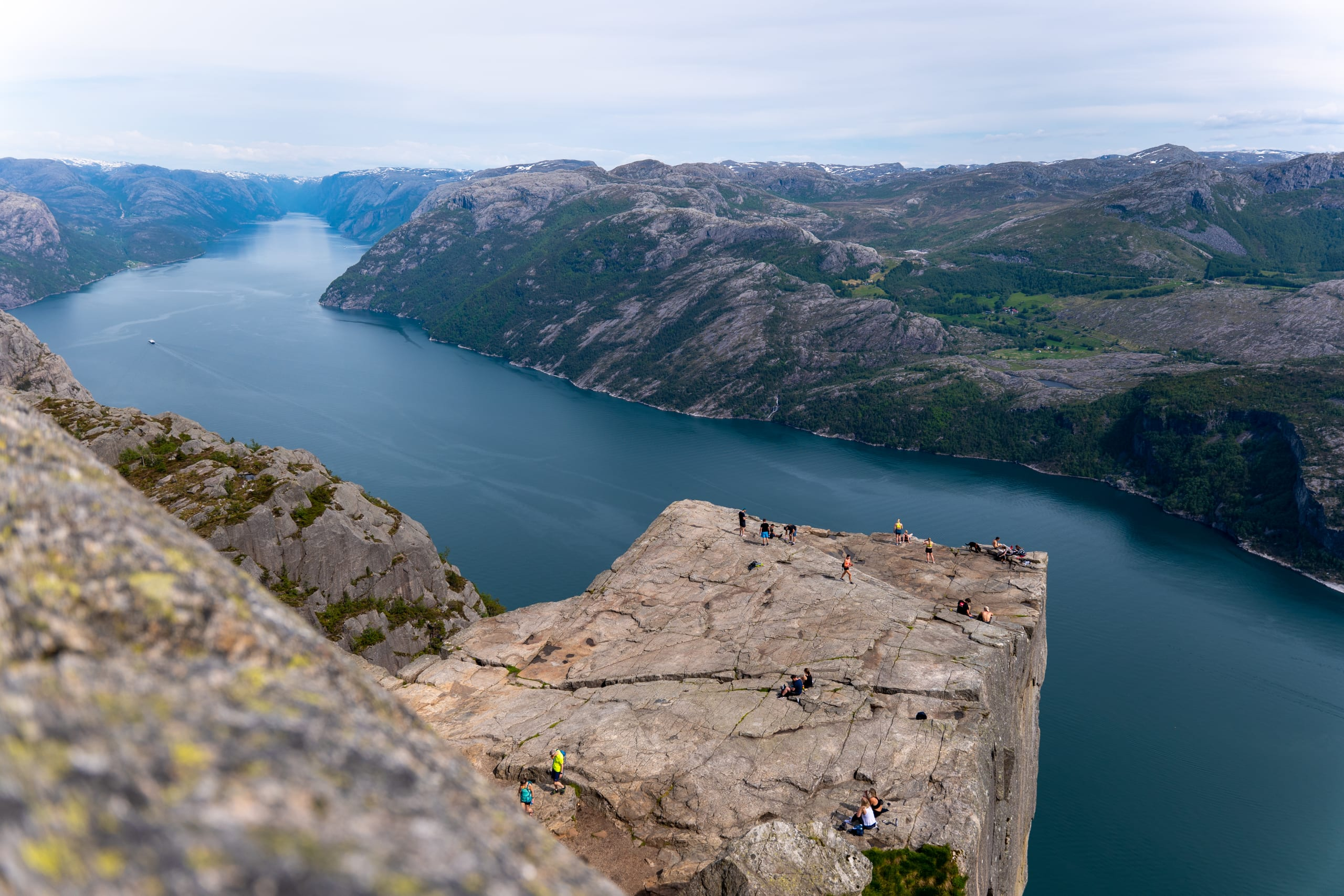 The Pulpit Rock and Lysefjord