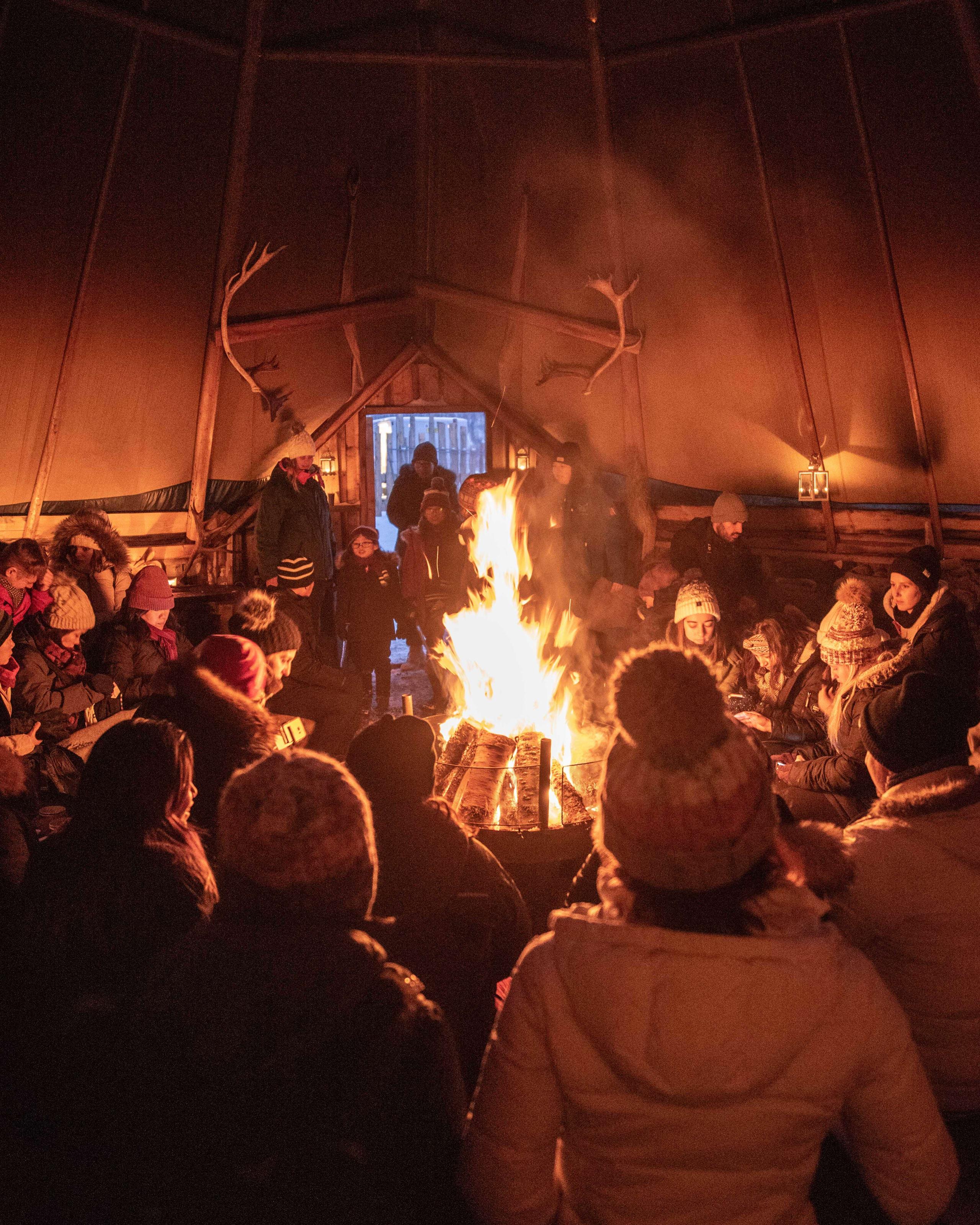 Cultural sami show in Tromsø