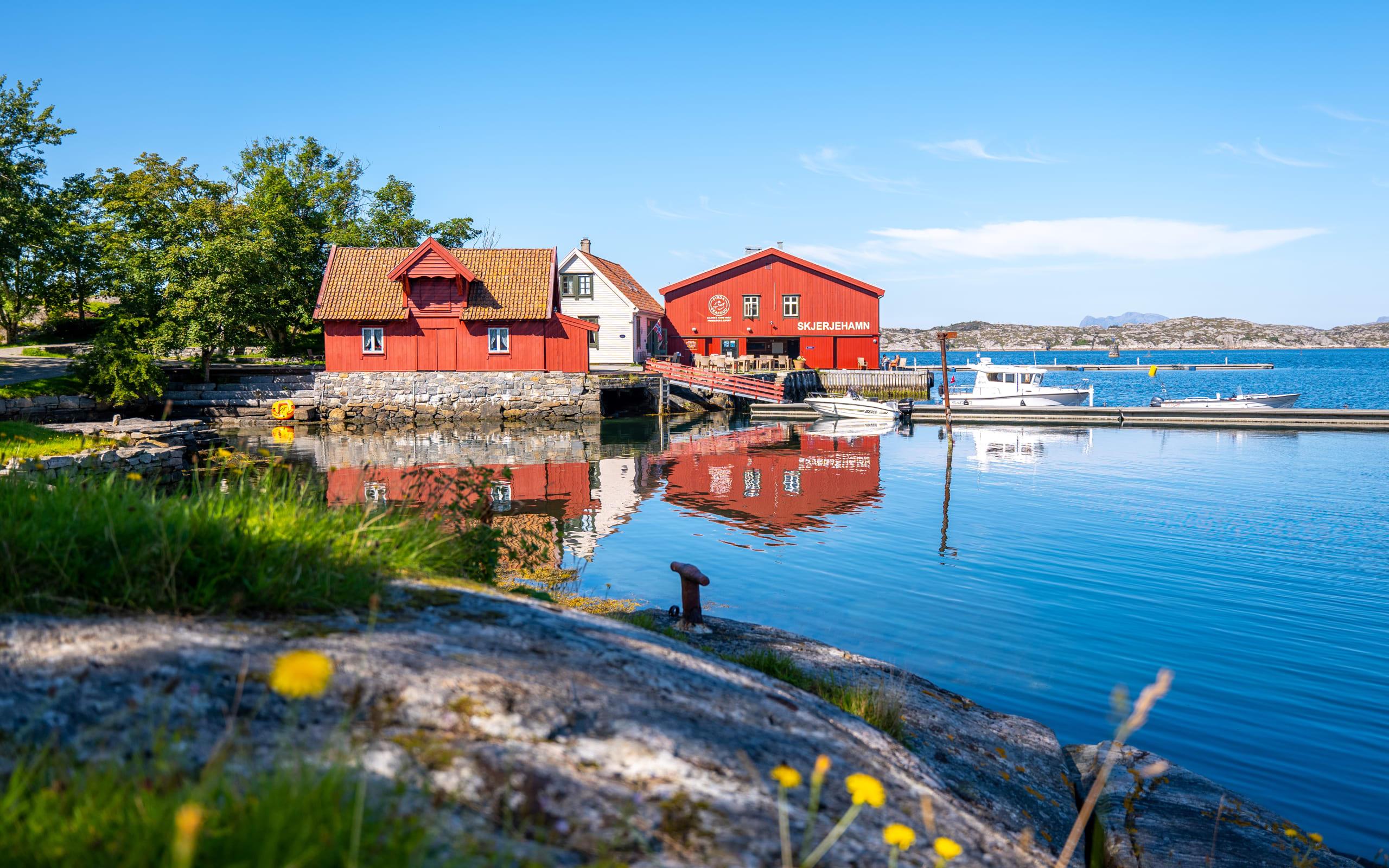 Skjerjehamn harbor island gem
