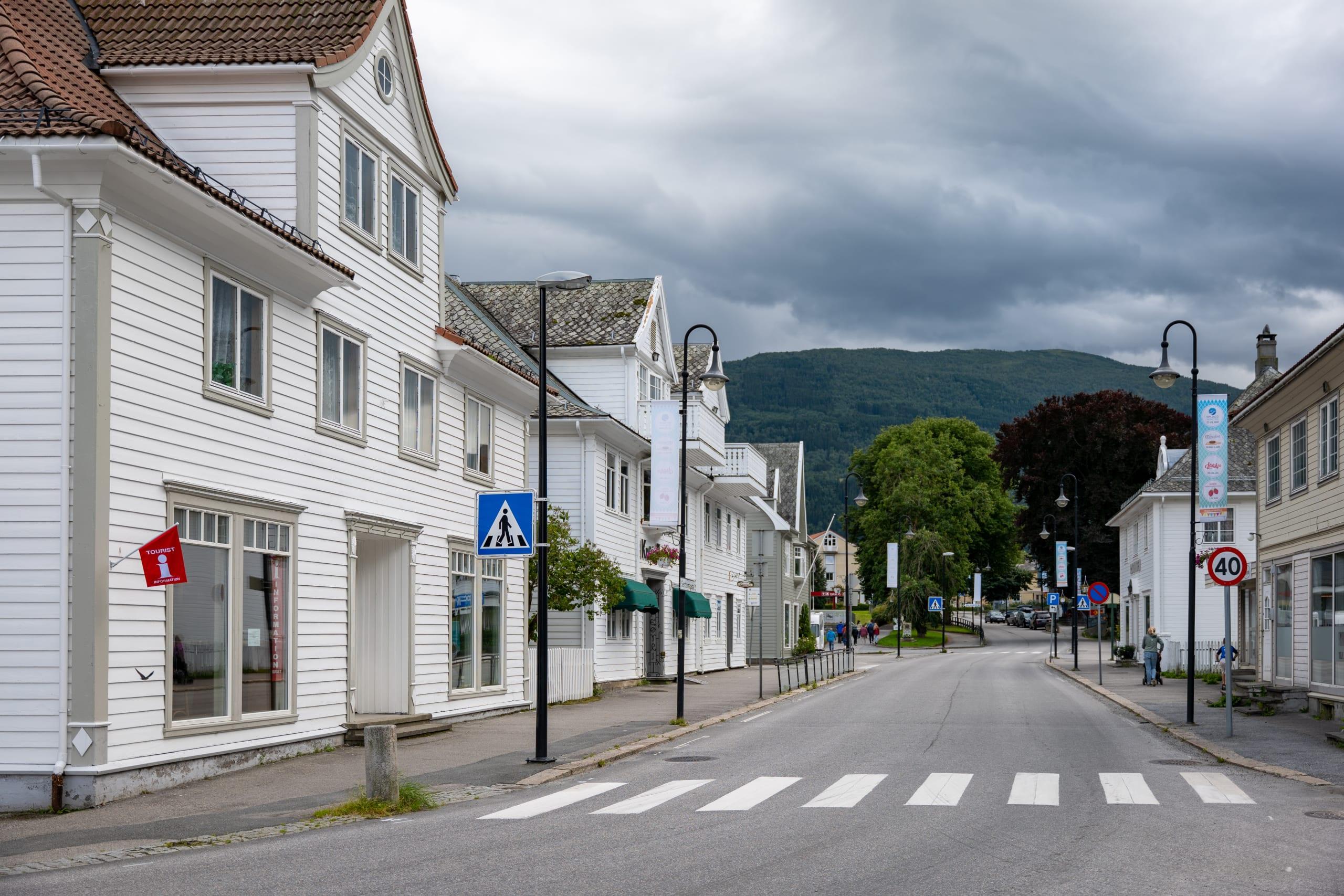 The Main Street in Vik