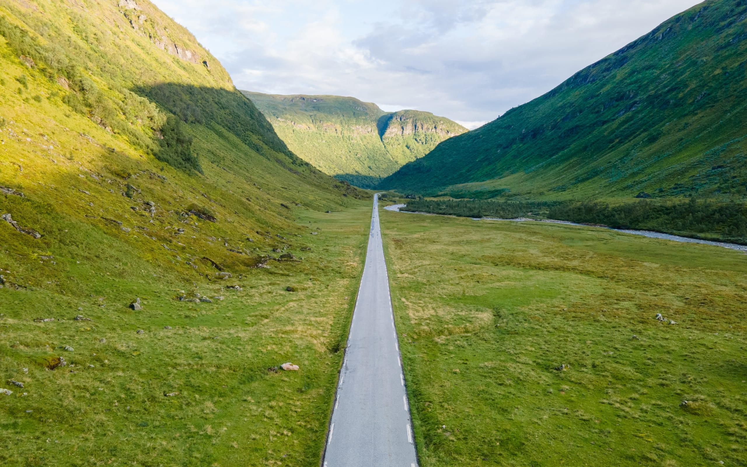 Vikafjell mountainpass