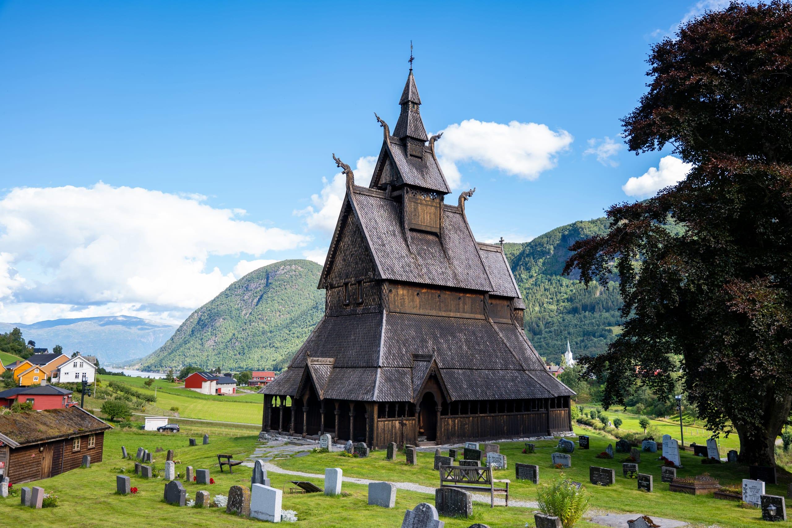 Hopperstad stave church in Vik