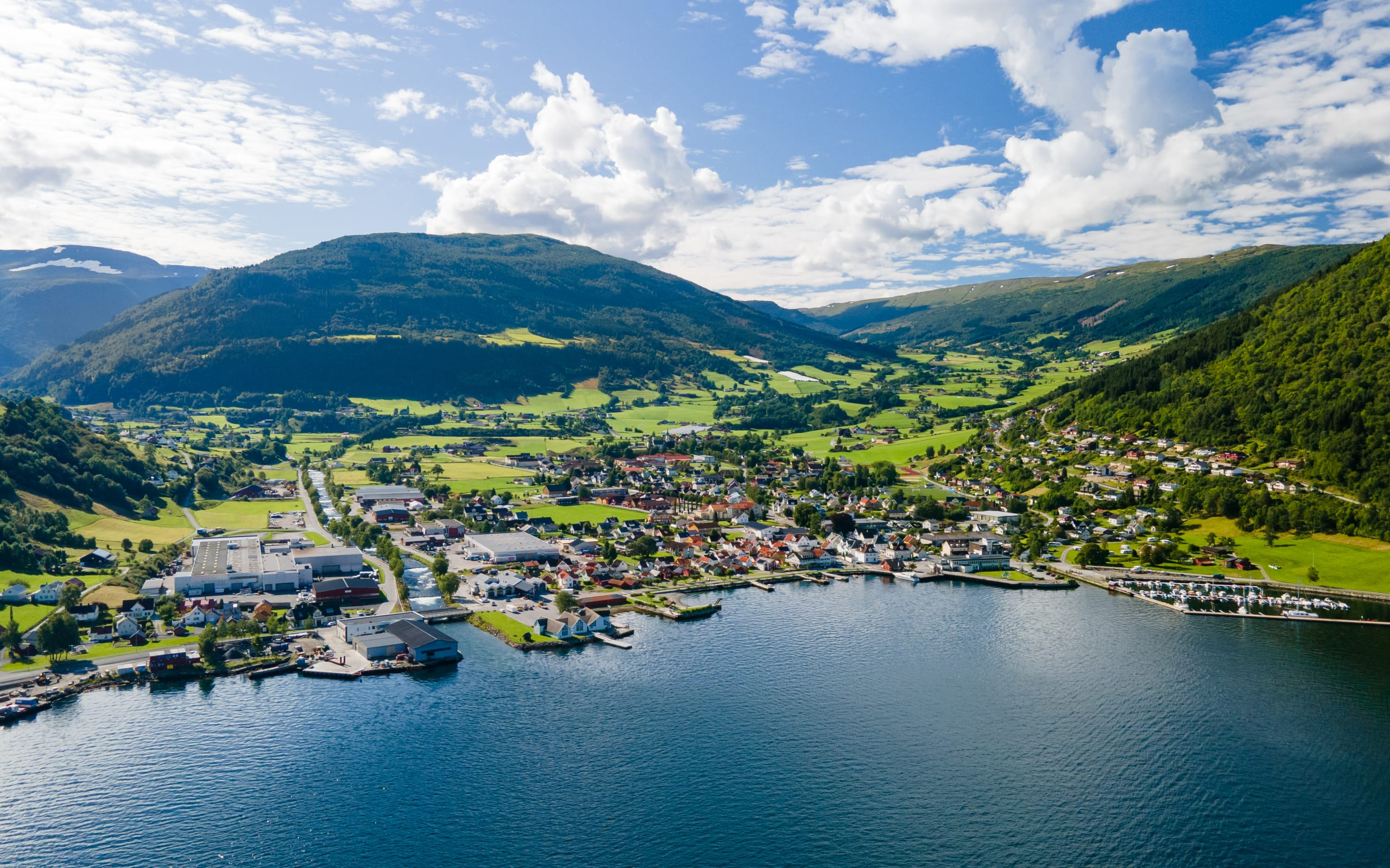 City of Vik in Sogn