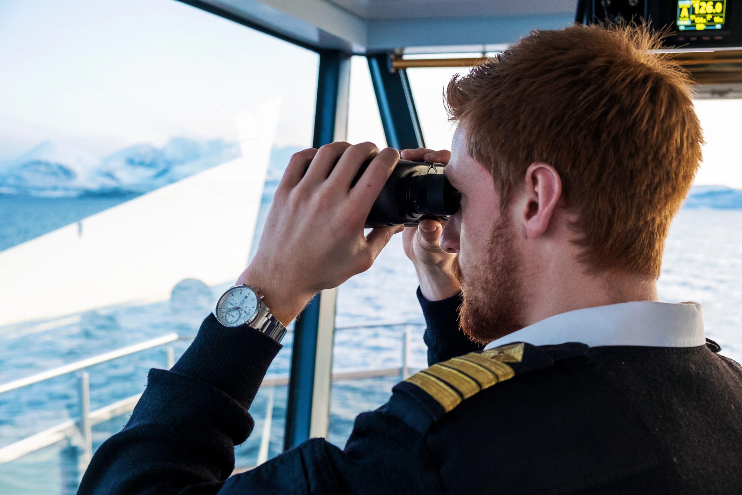 Captain on Brim Explorer