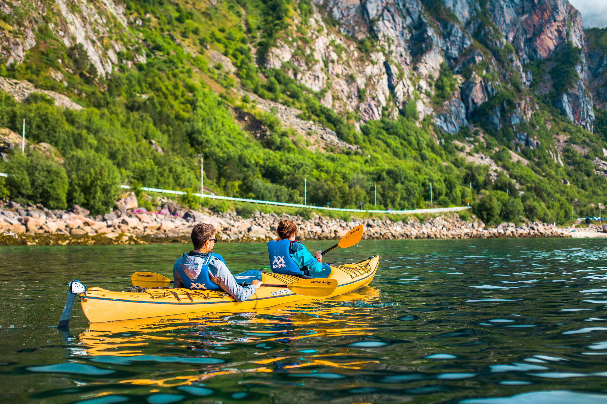 Kayak safari in Svolvær