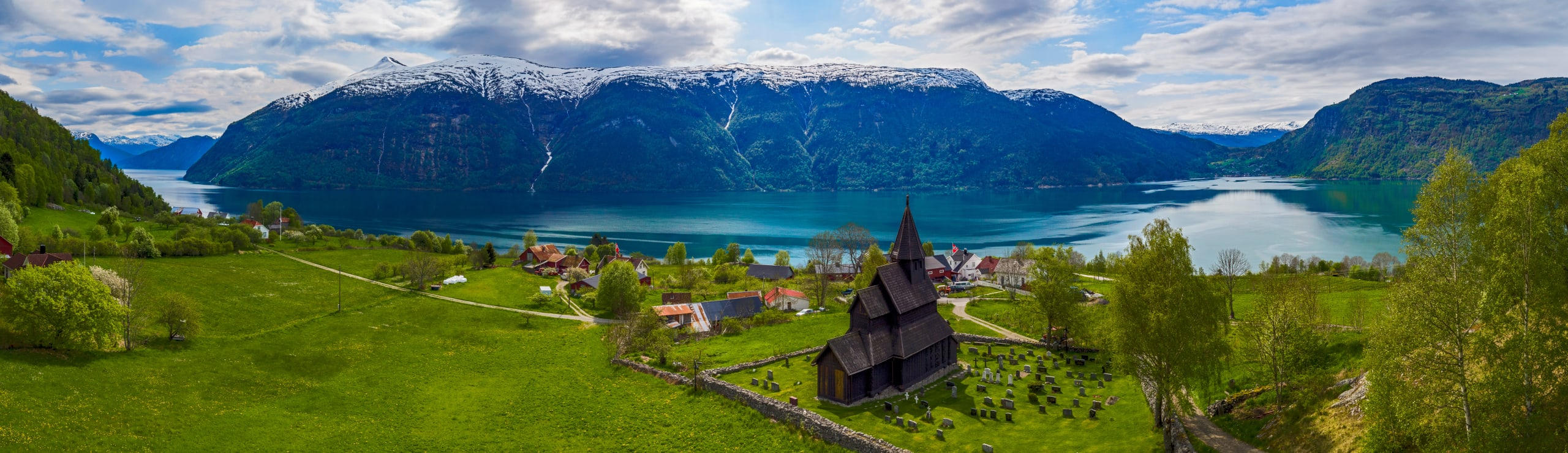 Urnes stave church by the Sognefjord