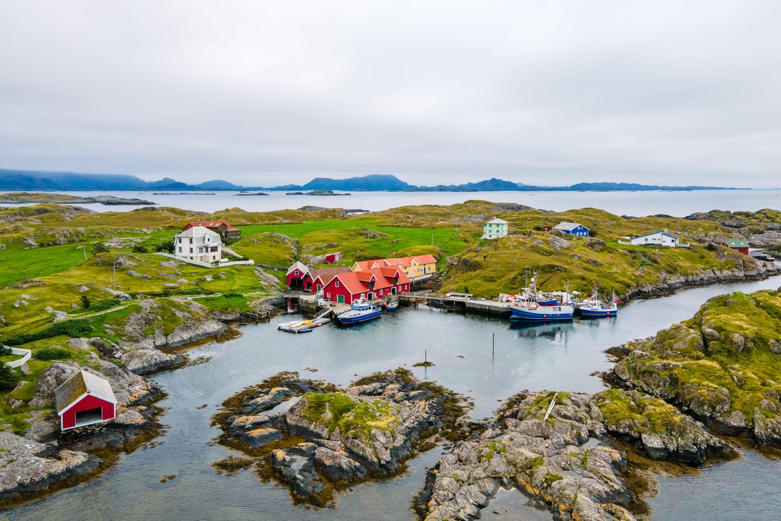 Gåsvær island