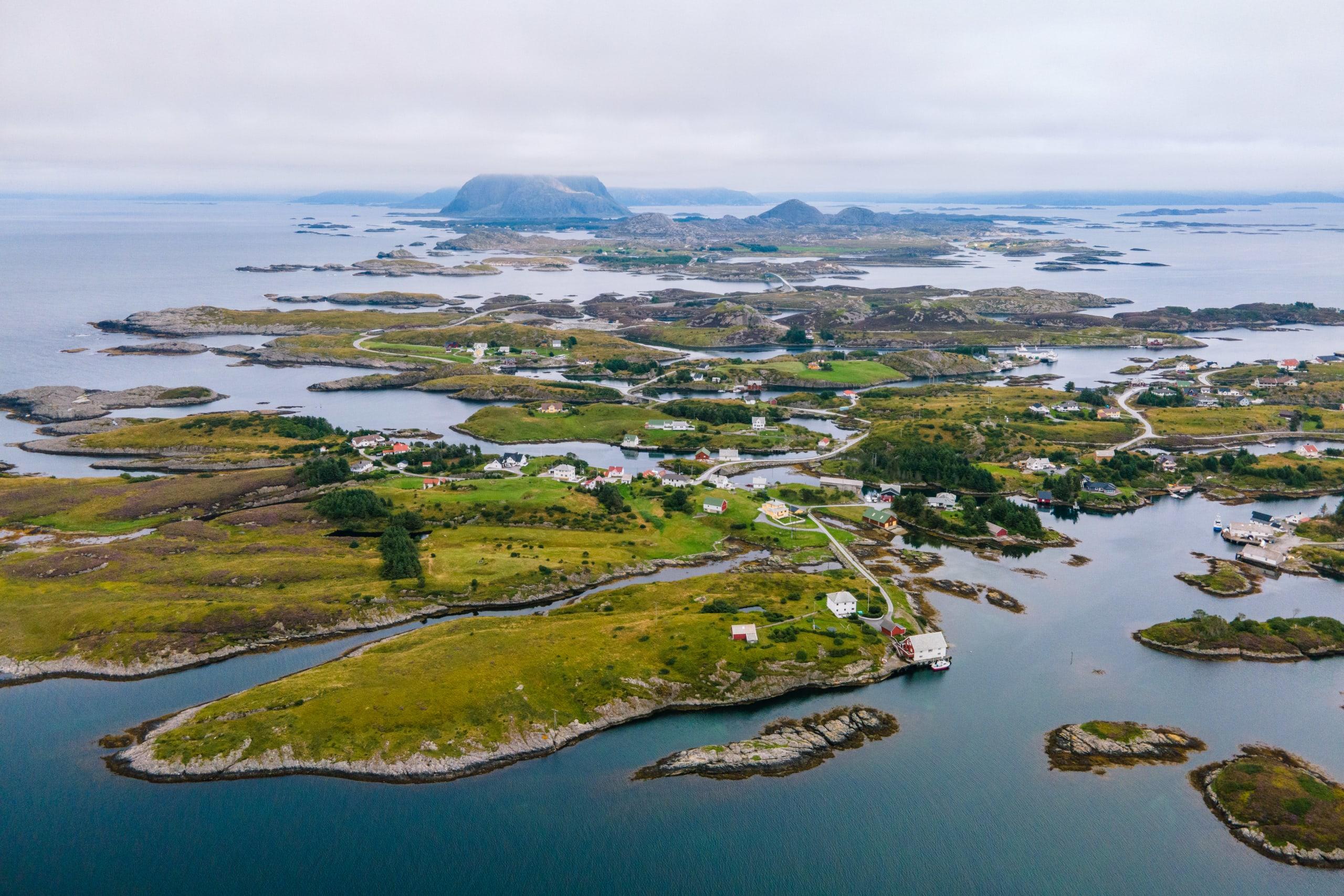 Bulandet and Værlandet island group